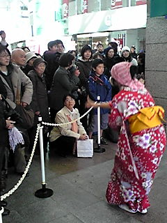 羽三囃子様新春獅子舞