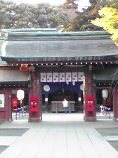 大国魂神社に行きました。