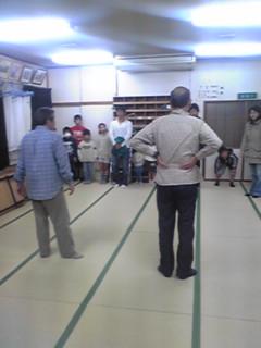錦東会さん練習にお邪魔しました