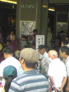 東日本大震災義援金活動が行われました。